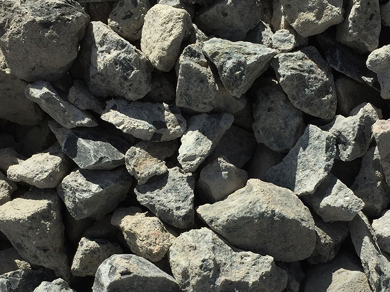 gebroken beton